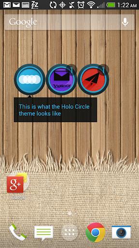 【免費個人化App】Holo Circle - FN Theme-APP點子