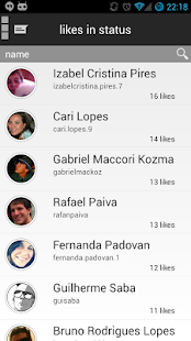 Facewatcher-Stalk for Facebook - screenshot thumbnail