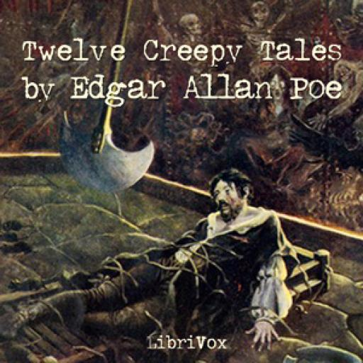 Audio Book 12 Creepy Tales Poe LOGO-APP點子