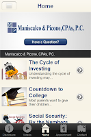 Screenshot of Maniscalco & Picone