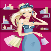 Shopping Barbie Dress Up Game