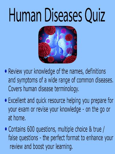 Learning Human Diseases Quiz