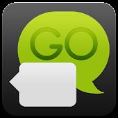 Dark Green GO SMS Theme