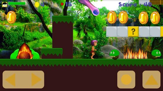Jungle Fire Run android games