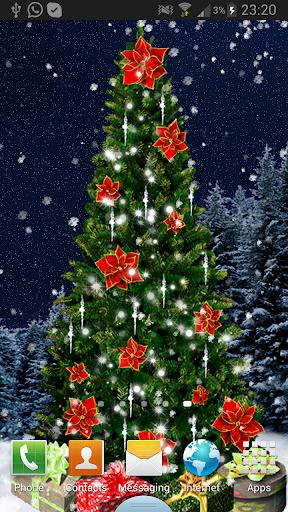 Christmas Tree Live Wallpaper screenshot 8