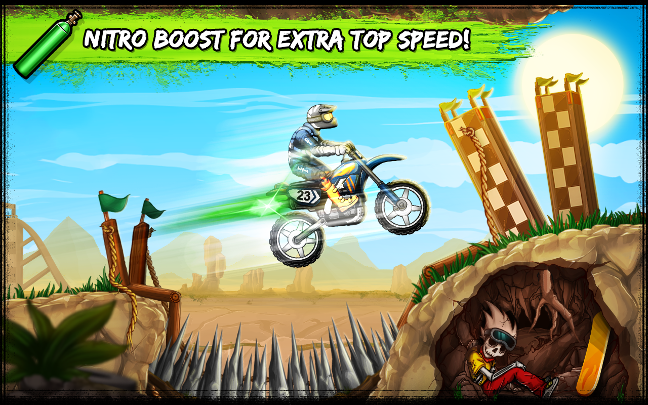 Bike Rivals- screenshot