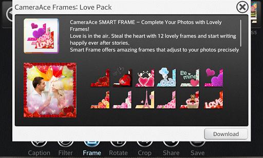 카메라에이스 프레임: Love pack