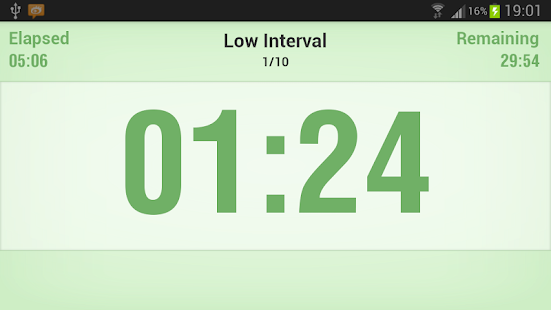 Interval Timer - screenshot thumbnail