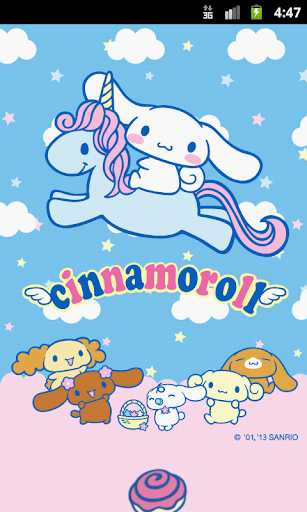 Cinnamoroll and Blue Unicorn