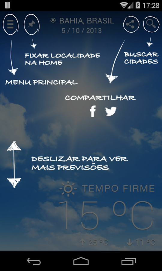 Climatempo - Previsão do Tempo - screenshot