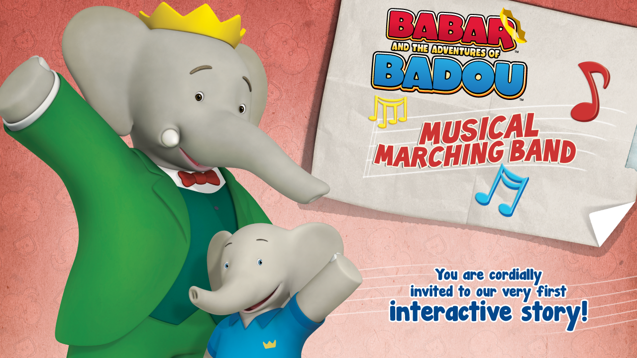 Babar & Badou's Marching Band - screenshot