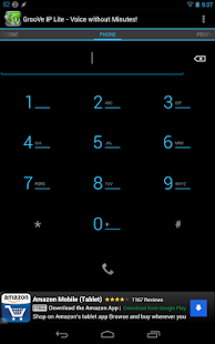 GrooVe IP Lite Free Calls Text - screenshot thumbnail