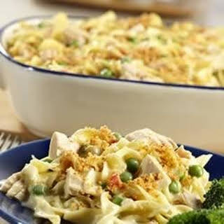 Classic Tuna Noodle Casserole.