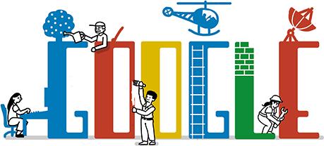 Doodle chào mừng ngày Quốc tế lao động 2012