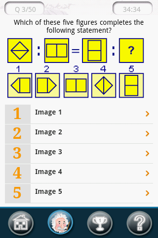 IQ Test - Calculate Your IQ- screenshot