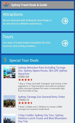 Sydney Travel Deals Guide