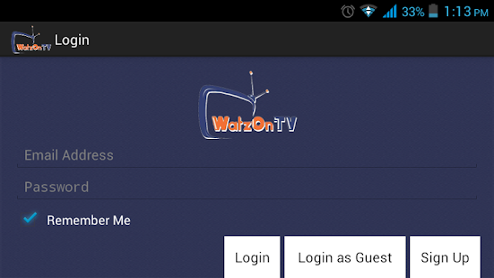 WatzOnTV - screenshot thumbnail