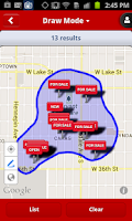 Screenshot of Edina Realty Homes for Sale