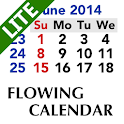 Flowing Calendar LITE icon