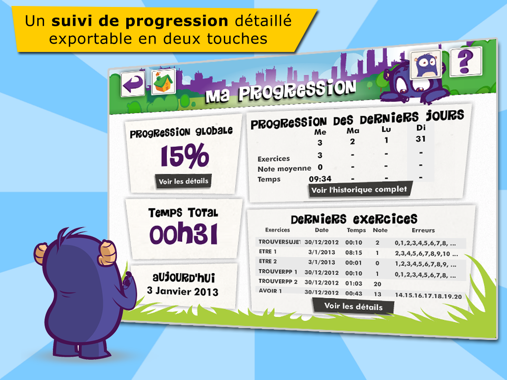 Les participes passés- screenshot