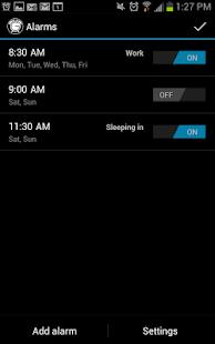 Good Morning Alarm Free - screenshot thumbnail