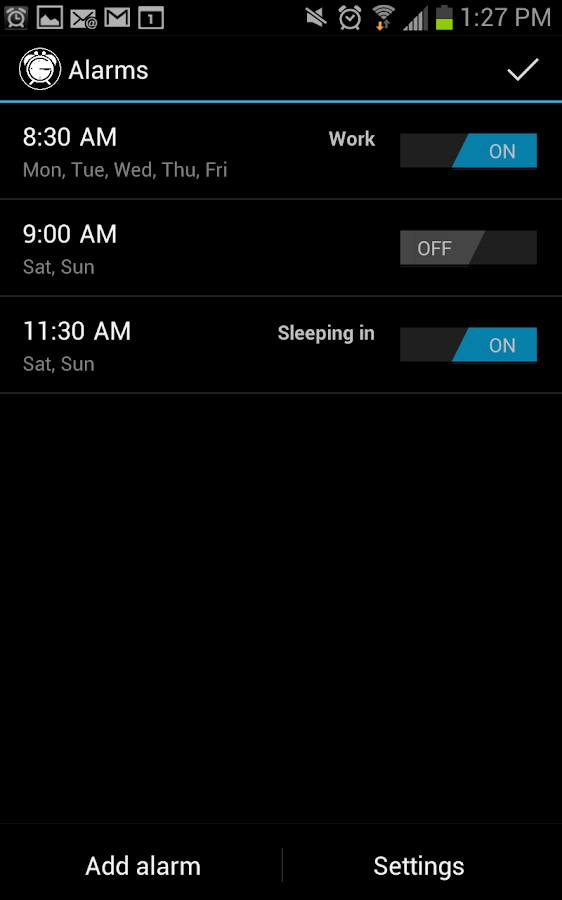 Good Morning Alarm Free- screenshot