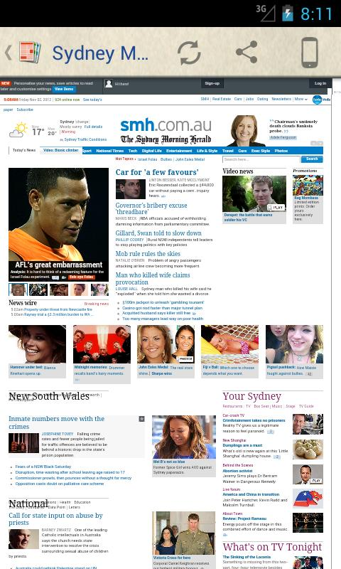 Australia Newspapers - screenshot