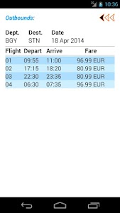 Ryan Flight Fare Watch screenshot 6