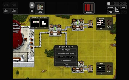 SpaceChem Mobile Demo Screenshot 2