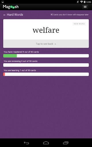 玩教育App|TOEFL英语词汇卡免費|APP試玩