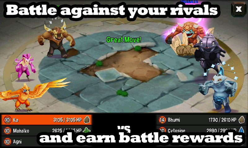 Giant Realms : Battle Arena - screenshot