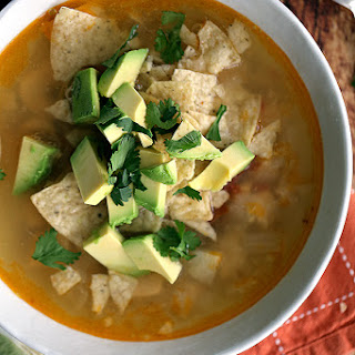Chipotle Chicken Lime Soup.