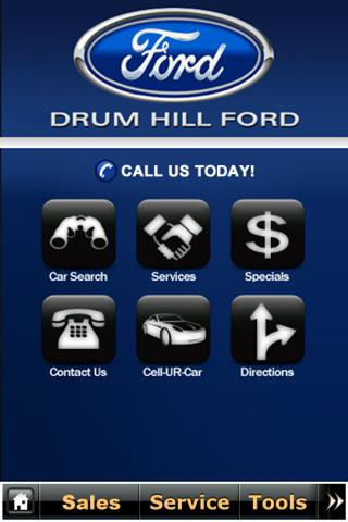 Drum Hill Ford - screenshot