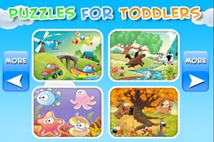 Screenshot of Puzzles for Toddlers Kids Free