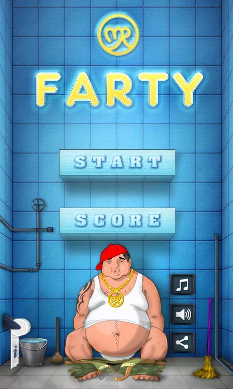 Mr Farty Jump - screenshot
