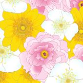 [Floral Illust] Flower Atom