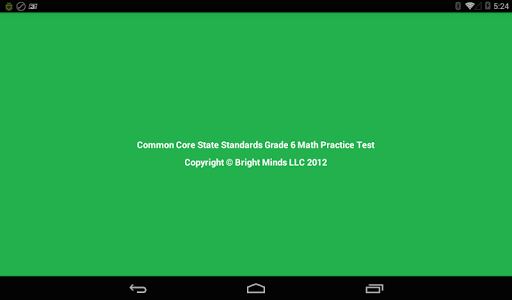 Common Core Grade 6 Math