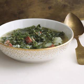 Portuguese Kale and Potato Soup.