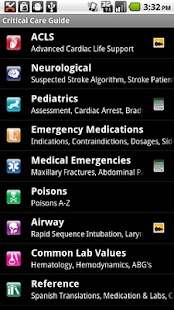 Critical Care ACLS Guide- screenshot thumbnail
