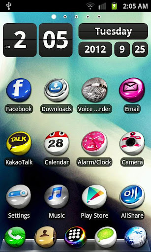 3D Icons v2 for Go Launcher EX