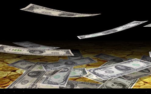 【免費個人化App】Falling Money Wallpaper Lite-APP點子
