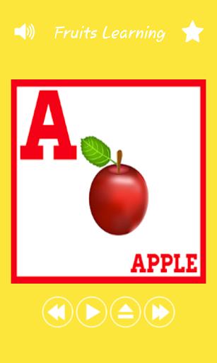 Kids Fruits Flashcards
