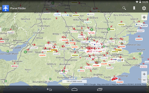 Plane Finder- screenshot thumbnail