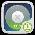 Glass style GO TaskManagerEX icon