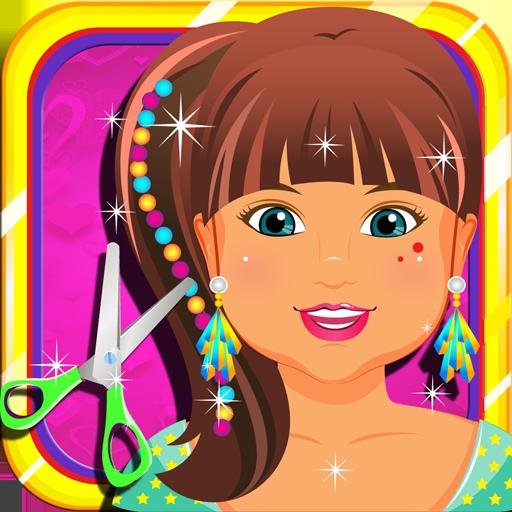 有趣的兒童美髮沙龍溫泉 家庭片 App LOGO-硬是要APP