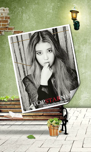 K-POP STAR IU live wallpaper