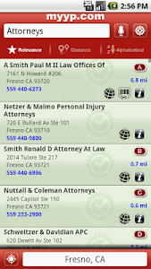 myyp Yellow Pages screenshot 2