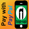 Phone Top Up using PAYPAL icon