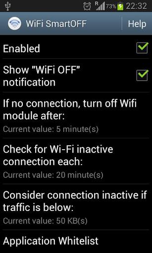 WiFi SmartOFF
