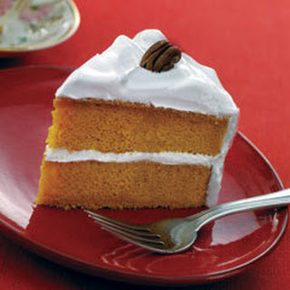 Super-moist Pumpkin Spice Cake.